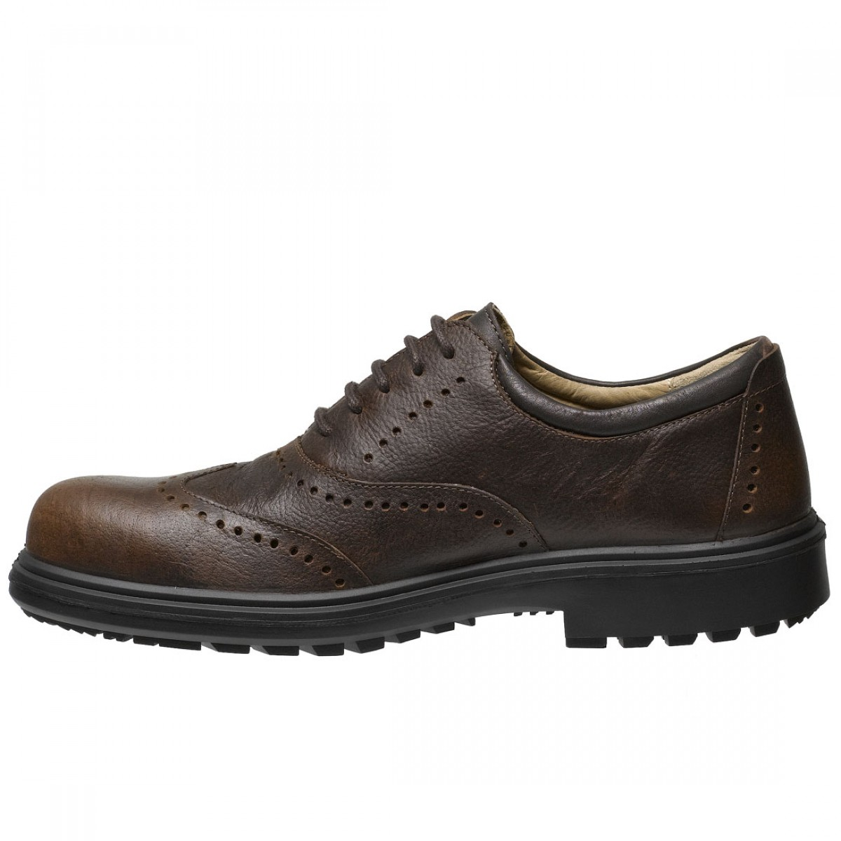 Executive Safety Shoes Brown