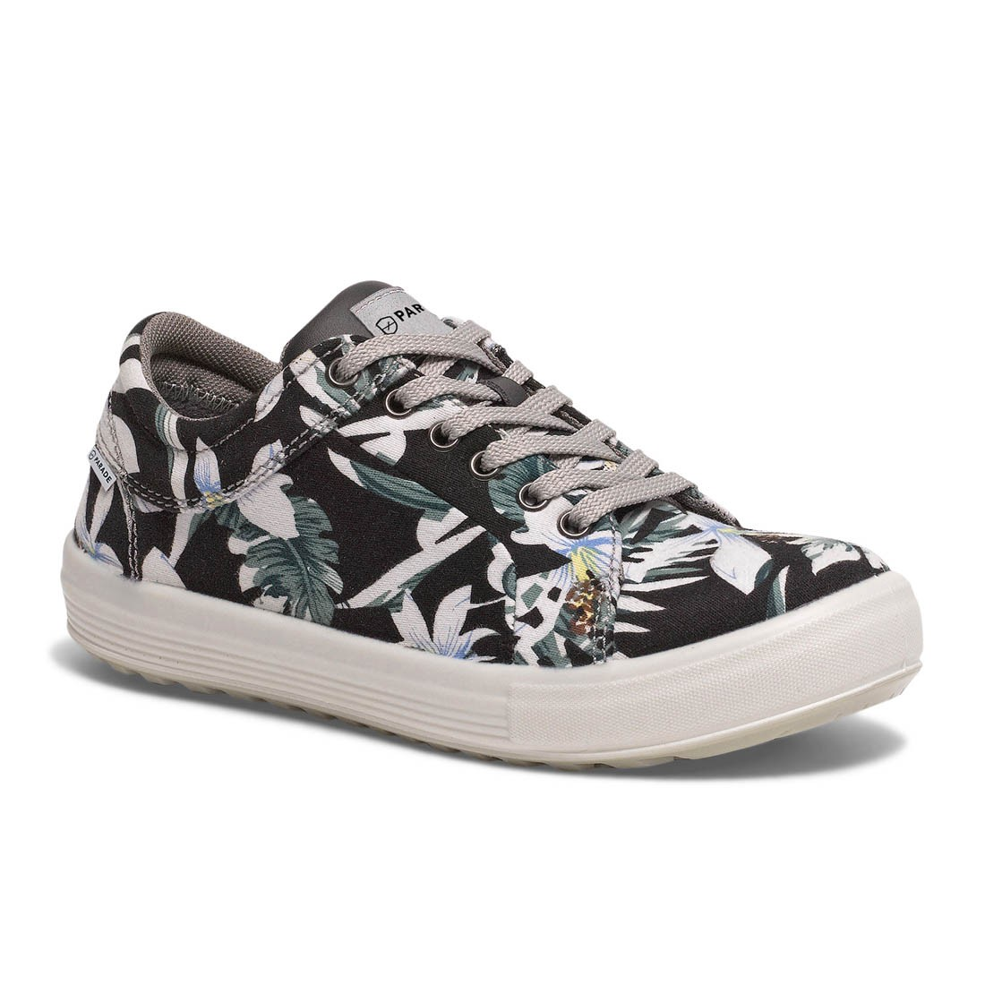 Parade Venice Lightweight Ladies Navy Blue Flower Safety Trainer Shoes