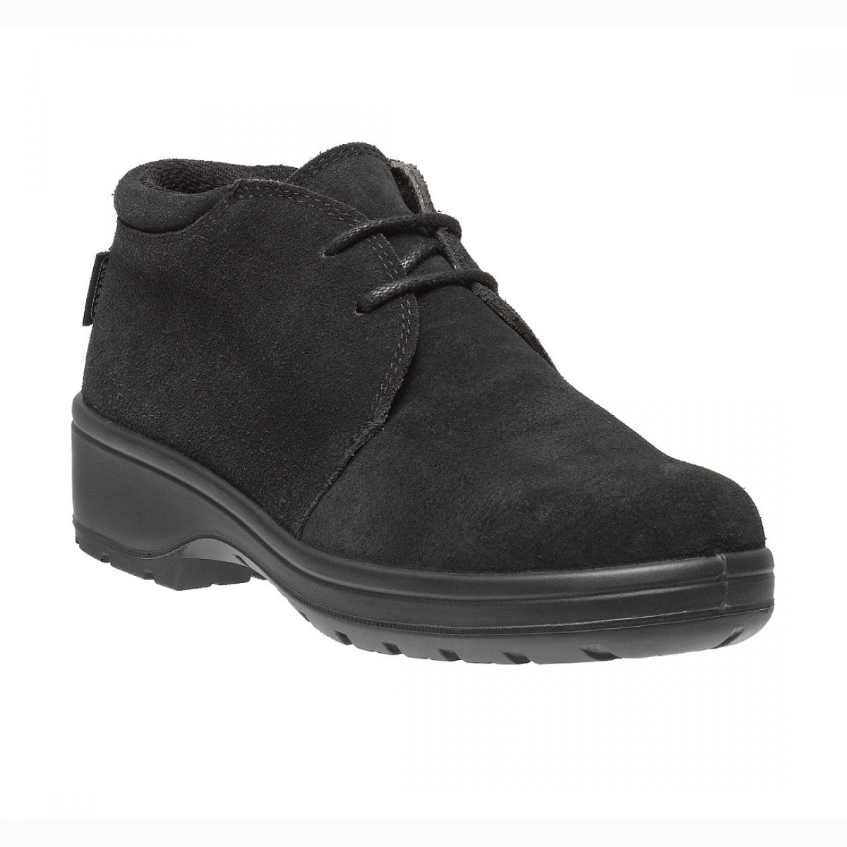 13b61e54fcd Lavoro Geena ESD Black Nubuck Leather Steel Toe Cap Ladies Safety Boots