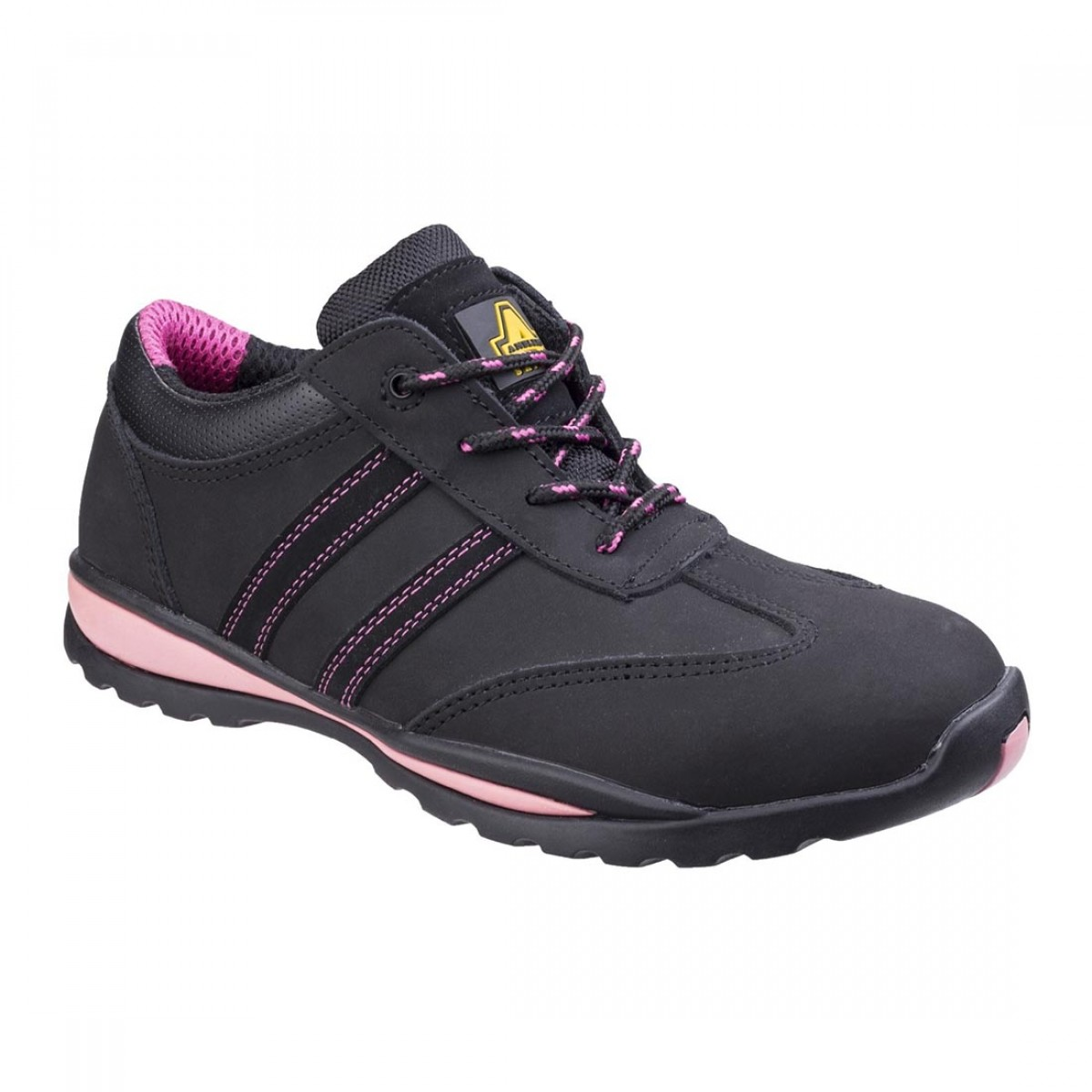 7bda43ec71d Amblers Pink FS47 Ladies Safety Trainers - Charnwood Safety Footwear