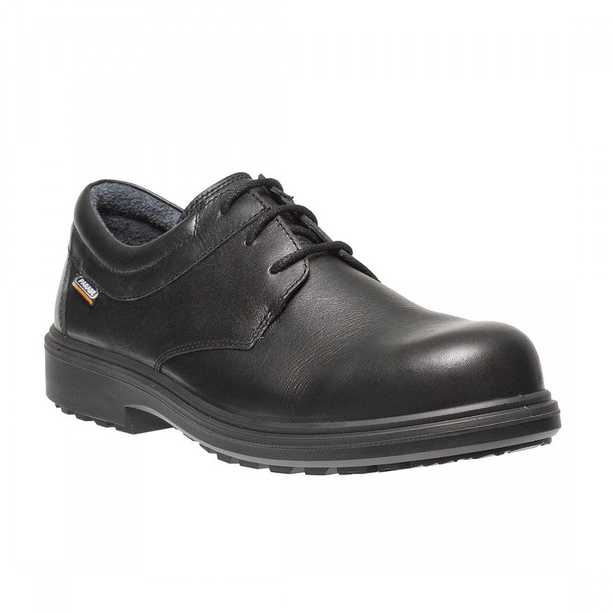 a0ace1c82a9 Parade Odessa Metal Free Smart Executive Mens Black Leather Safety Shoes