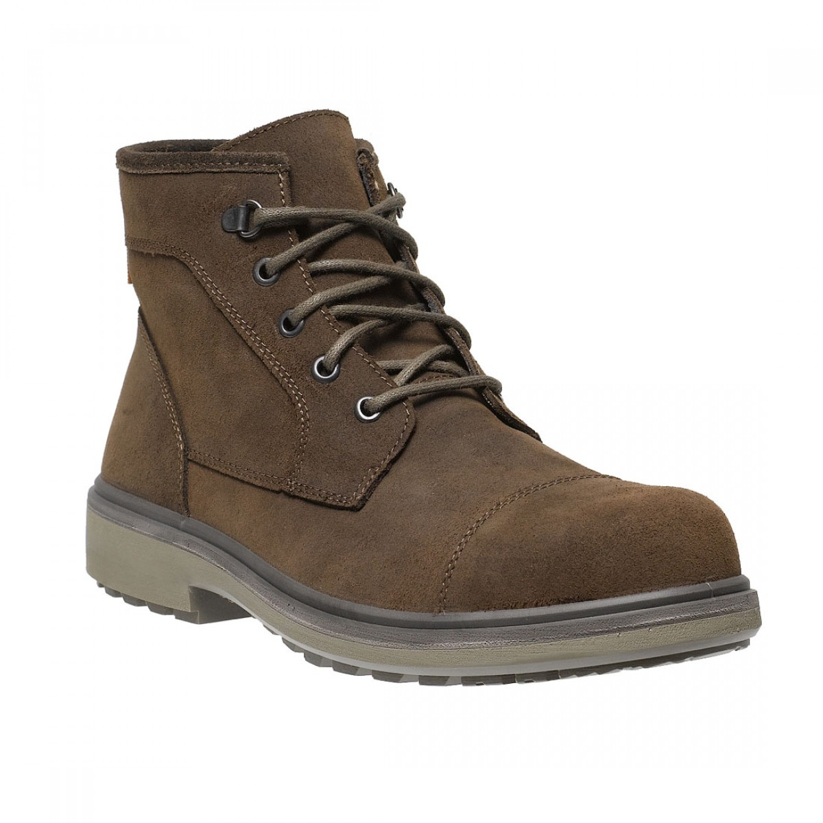 83b96d2033e Parade Oslo Lightweight Executive Mens Smart Brown Leather Safety Boots