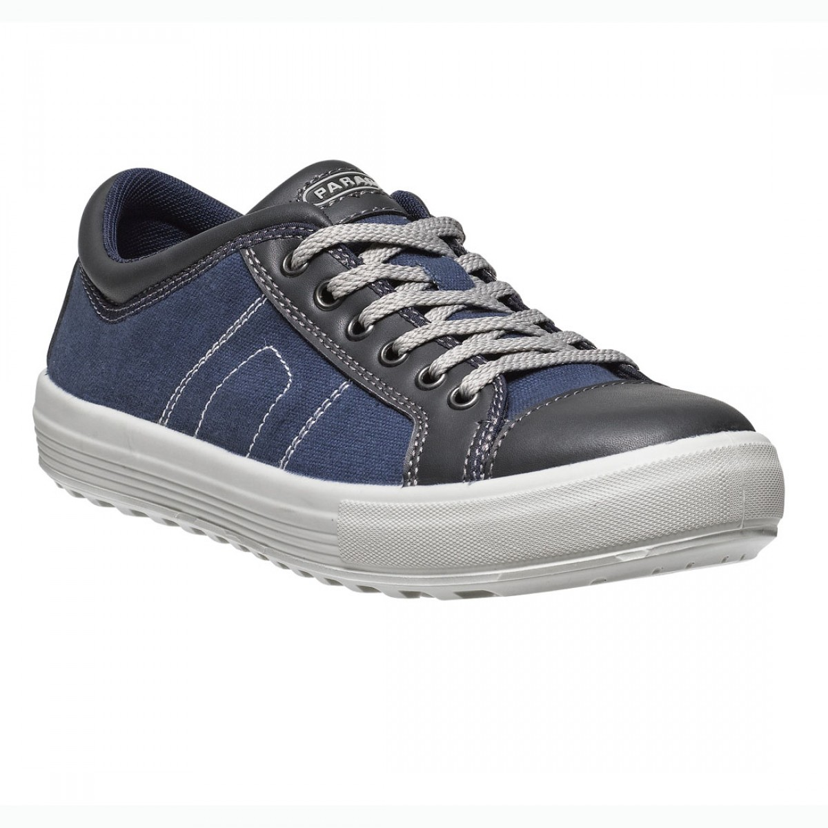 parade footwear vance unisex navy and black canvas safety