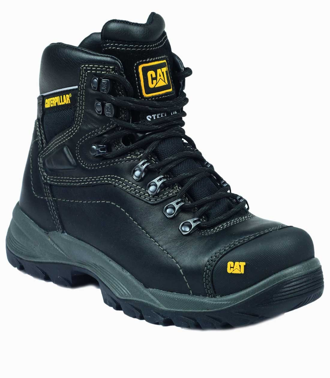 Caterpillar Diagnostic Black Safety Boots - Charnwood ...