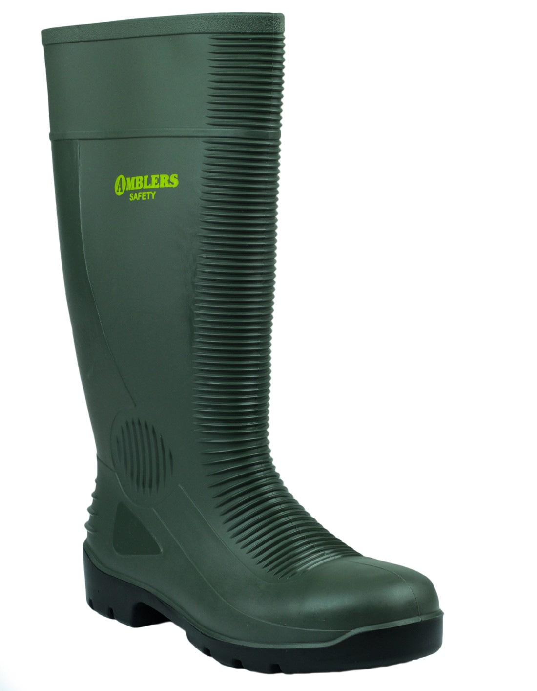 Amblers FS99 Green S5 Safety Wellingtons