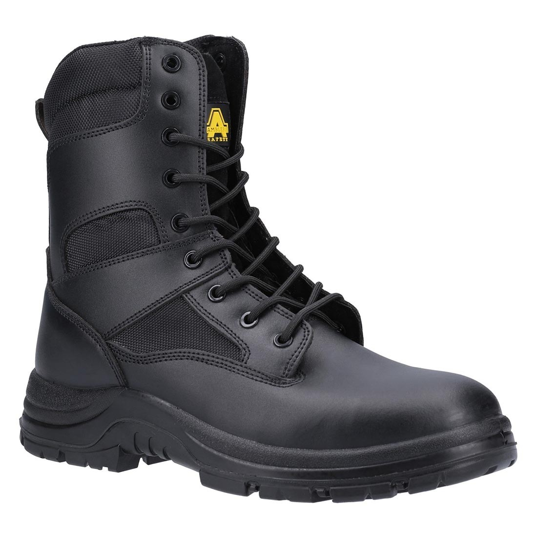 Amblers Safety FS009c Black Leather Metal Free Unisex Safety Boots