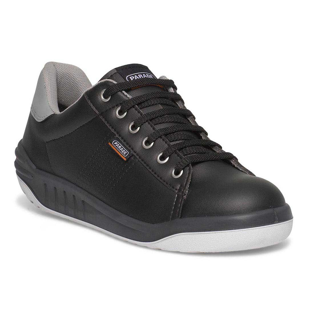 Parade Jamma Black Premium Unisex Safety Trainers with VPS Comfort System