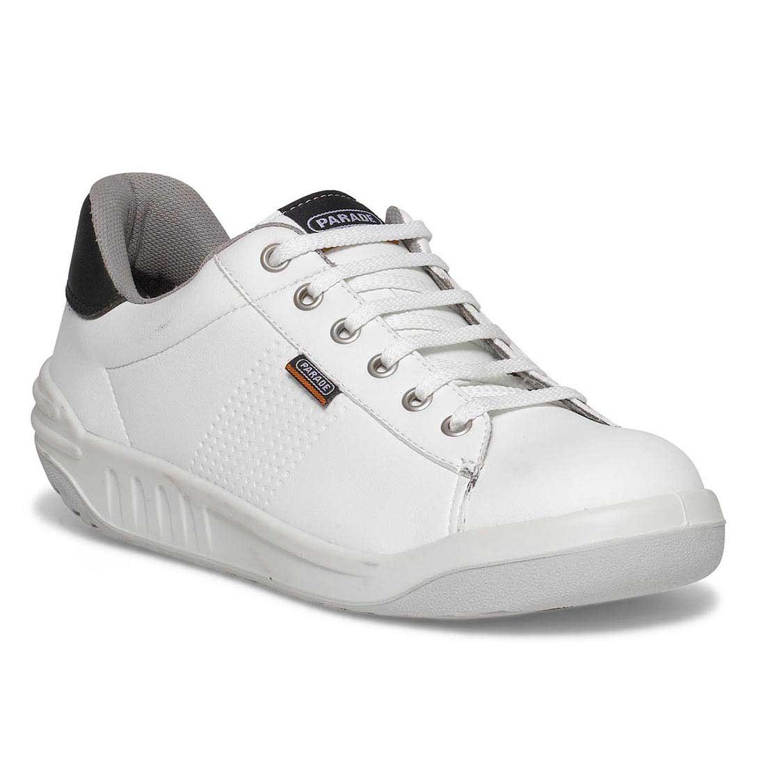 Parade Jamma White and Black VPS Unisex Premium Safety Work Trainers