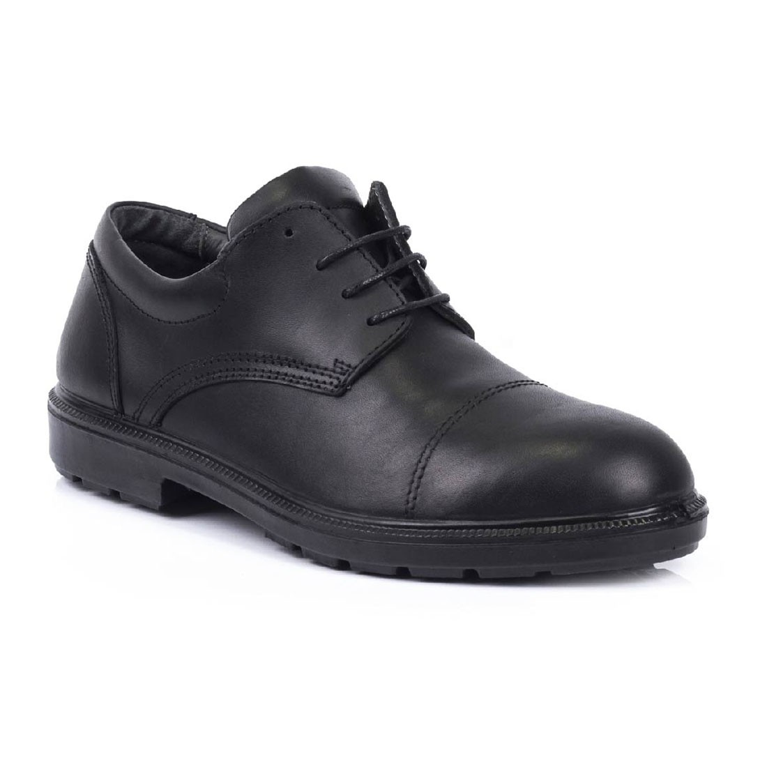 Lavoro Cambridge Executive Black Leather S3 Safety Shoes