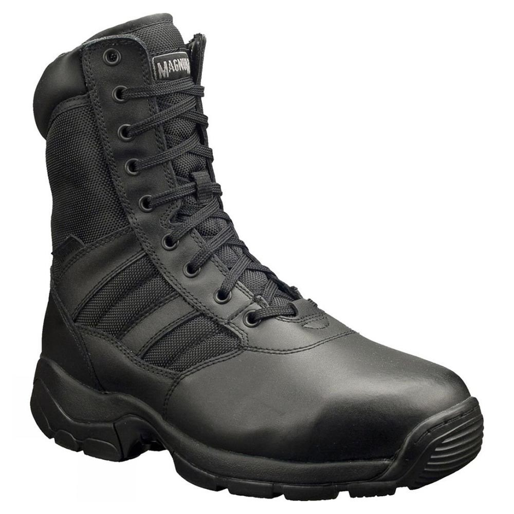 Magnum Panther 8 Black Leather and Textile Combat Style Safety Boots