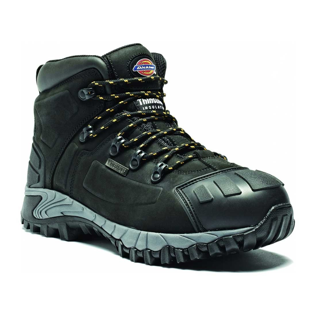 Dickies Super Safety Medway Black S3 Waterproof Hiker Safety Boots