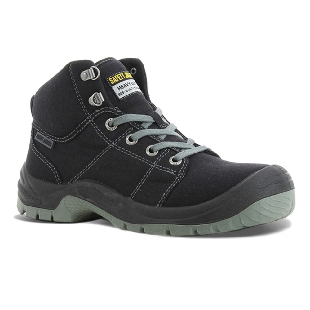 Safety Jogger Desert S1P SRC Lightweight Black Mens Safety Work Boots