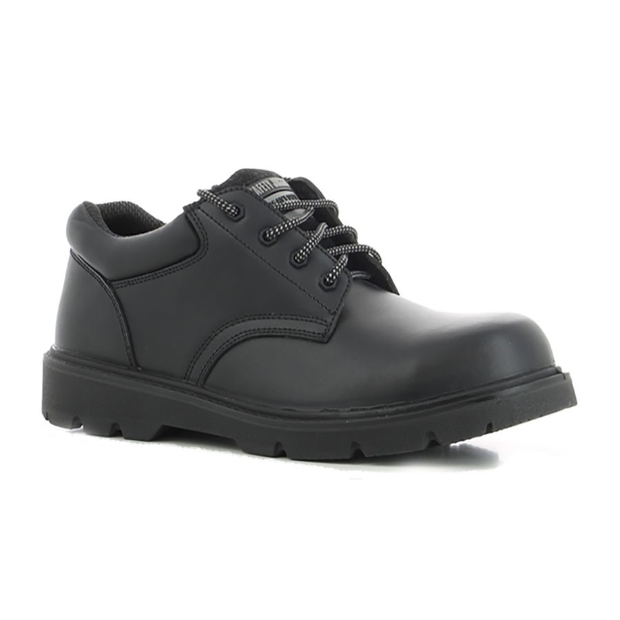 Safety Jogger HD Metal Free Lightweight S3 Black Leather Safety Shoes