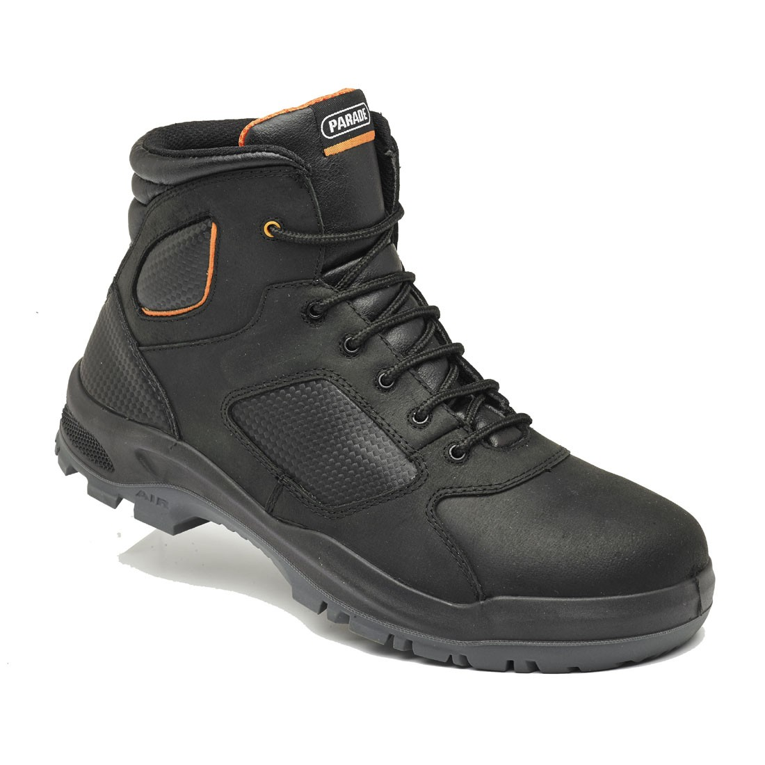 Parade Footwear Treyk Black Unisex Metal Free Lightweight Safety Boots