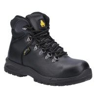 Amblers Safety AS606 Jules Black Metatarsal S3 Ladies Safety Boots