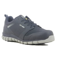 Safety Jogger Ligero Ultra Light Navy ESD S1P Metal Free Safety Trainers