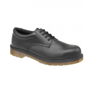 Dr Martens FS57 Black Leather Safety Shoes