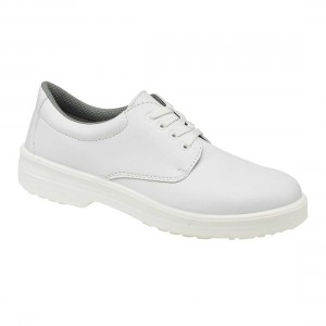 White Catering Lace Up Safey Work Shoes