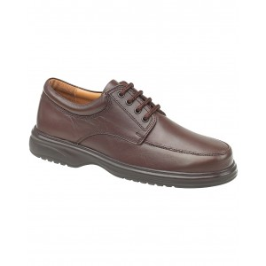 Amblers Bradbury Featherlight Brown Lace Mens Shoes