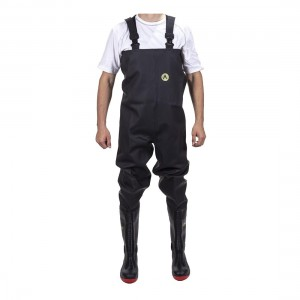 Amblers Safety Danube 1000CW Waterproof S5 Safety Black Chest Waders