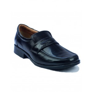 Amblers Manchester Leather Loafer Black