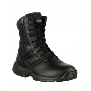 Magnum Panther 8 inch Side Zip (55627) Black Unisex Boots