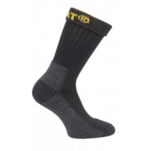 Caterpillar Industrial Work Sock 2 pk Black