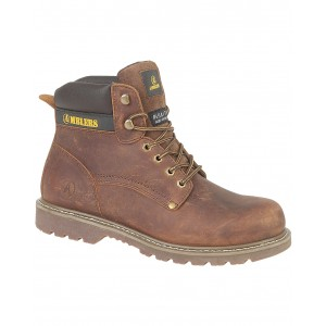 Amblers Dorking Casual Brown Crazy Horse Mens Boots