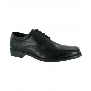 Amblers Tigg Leather Black Lace Mens Shoes