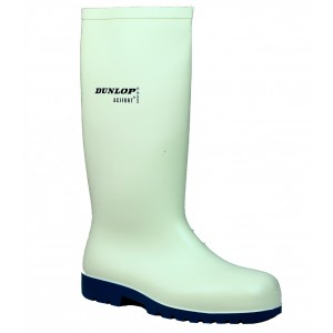 Dunlop Wellies -  White Acifort Classic Safety Wellingtons
