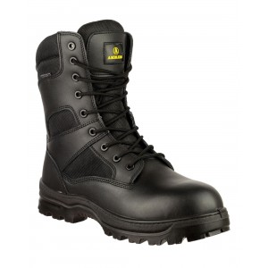 Amblers Combat Boot Black High Leg Boots