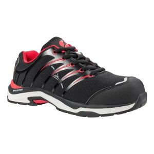 Albatros Twist Red Low S1P ESD Metal Free Ladies Safety Trainers