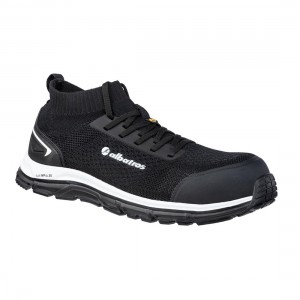 Albatros Ultimate Impulse S3 ESD Metal Free Black Mens Safety Trainers