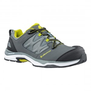 Albatros Ultratrail Grey Low S3 ESD Metal Free Mens Safety Trainers