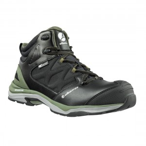 Albatros Ultratrail Metal Free S3 ESD Olive Black Mens Safety Boots
