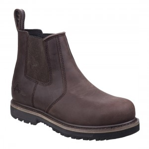 Amblers Safety AS231 Skipton Brown Leather Waterproof Safety Dealers