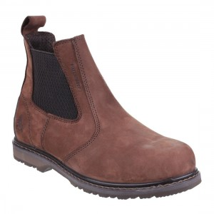 Amblers Safety AS148 Sperrin Waterproof Brown Leather Safety Dealers