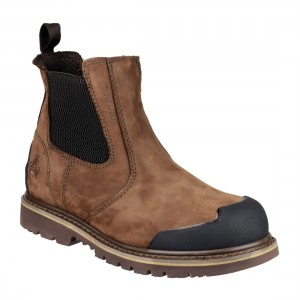 Amblers Safety FS225 Brown Leather Waterproof Welted Safety Dealers