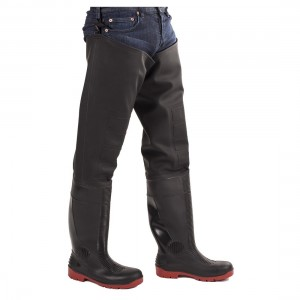 Amblers Safety Rhone AS1001TW Waterproof S5 Safety Black Thigh Waders
