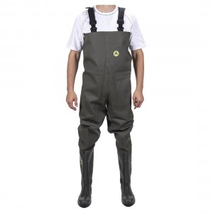 Amblers Safety Tyne 1002CW Waterproof S5 Safety Green Chest Waders