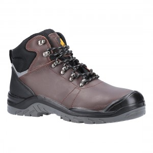 Amblers Safety AS203 Laymore Brown Leather S3 SRC Safety Hiker Boots