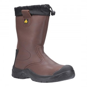 Amblers Safety AS245 Torridge Waterproof Brown Safety Rigger Boots