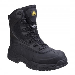 Amblers Skomer Hybrid Waterproof Metal Free Side Zip Safety Boots