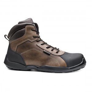 Base Rafting Top B0610 Metal Free Brown Leather S3 SRC Safety Boots