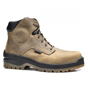 Base Buffalo Top B0712 Waxy Brown Leather S3 SRC Mens Safety Boots