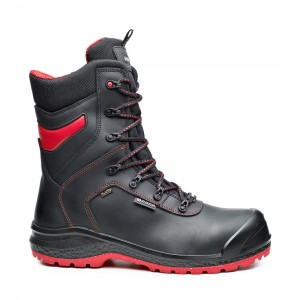 Base BeDry Top B0896 Metal Free Black Leather Waterproof Safety Boots