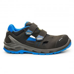 Base iBit B1205 Black Blue Metal Free ESD S1P SRC Safety Trainers