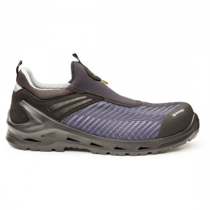 Base iLab B1206 Grey Blue Metal Free ESD S1P Slip On Safety Trainers