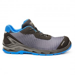 Base iCyber B1212 Black Blue Metal Free ESD S1P SRC Safety Trainers