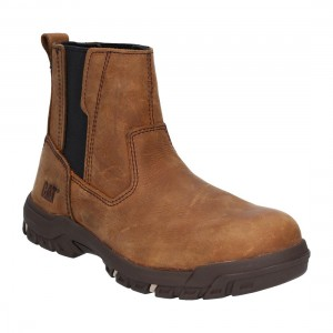 Caterpillar Abbey Butterscotch Leather S3 Ladies Safety Dealer Boots